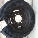Cutting of truck tires